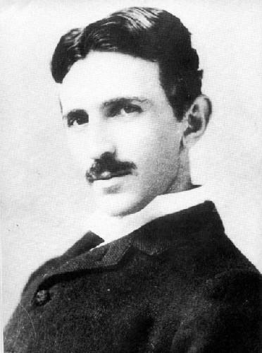 Der Erfinder und Physiker Nikola Tesla (1856-1943)
